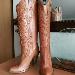 Jessica Simpson Western Alan Boots 9